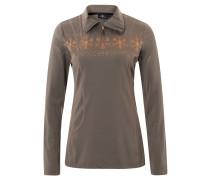 """Shirt """"Tianna"""", winterlicher Print, Stehkragen"""