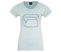 """T-Shirt """"Thilea"""", Print, Baumwolle, meliert"""