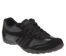 Sneaker, Memory Foam, Materialmix, Schwarz