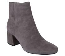 "Ankle-Boots ""Kalyca"", Leder, Blockabsatz, Grau"