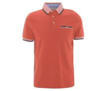 Poloshirt, Baumwolle, Brusttasche, Kontrast-Details