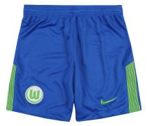 VfL Wolfsburg Shorts Away, 2017/18, für Kinder, Blau