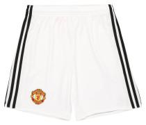 Manchester United Shorts Home, 2017/18, für Kinder, Weiß