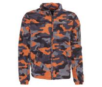 Jacke, Camouflage-Design, leicht, Kapuze, Mehrfarbig