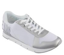 "Sneaker ""Taja"", Logo-Prägung, Metallic-Effekt"