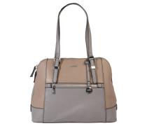 """Handtasche """"Tivoli"""", Schnallen-Details, zweifarbig, Grau"""