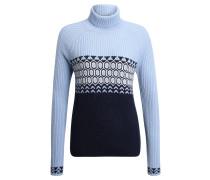 """Pullover """"Anneli"""", Strick, Rollkragen, für Damen, Blau"""