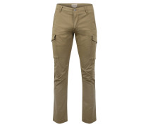 Hose, Slim-Tapered-Fit, Taschen, Oliv
