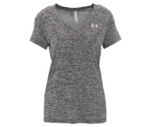 T-Shirt, Loose Fit, HeatGear, für Damen, Grau