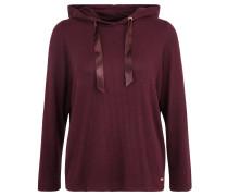 """Sweatshirt """"Cosy"""", Kapuze, Feinstrick, Lila"""