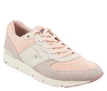 """Sneaker """"Marit"""", Mesh, Leder-Besatz, Profilsohle, Rosa"""