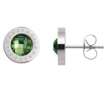 Ohrstecker Matrix grün 015105