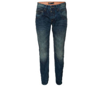 "Jeans ""Harold"", Used-Look, Button Fly"