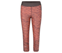 Tights, Capri, Kompression, Print, für Damen, Rosa