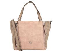 """Handtasche """"Breathe"""", Zierreißverschlüsse, Web-Optik, Rosa"""
