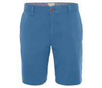"Bermuda ""Droit"", Regular Fit, Baumwoll-Stretch, Blau"