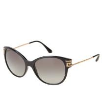 "Sonnenbrille ""VE 4316-B"", Strass, schmale Bügel"