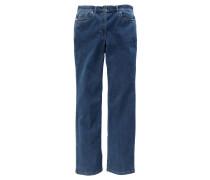 """Jeans """"Cora"""", Comfort Fit, Strass-Applikationen, Blau"""