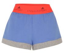 Shorts, breiter Bund, für Damen, Orange