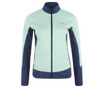 Trainingsjacke, Stretch, Stehkragen, für Damen, Grün