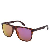 "Sonnenbrille ""5003/ST"", Retro-Stil, Schildpatt-Optik, farbige Gläser"