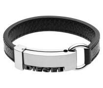 Armband Leder schwarz DX0001