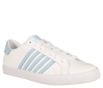 Sneaker, klassischer Retrolook, Weiß