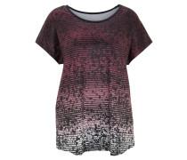 T-Shirt, Mustermix, atmungsaktiv, für Damen, Lila