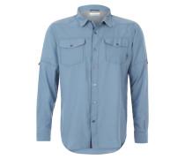 """Hemd """"Pilsner Peak II"""", Brusttasche, für Herren, Blau"""
