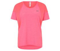 T-Shirt, Mesh-Einsätze, Reflektor, für Damen, Pink