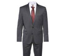 Anzug, modern fit, unifarben, fallender Revers-Kragen