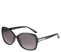 Sonnenbrille, Schmetterlingsform, Strassbesatz