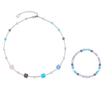 Cubetto Schmuck-Set Halskette+Armband, 2teilig 016290