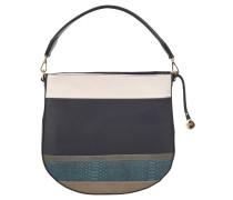 Handtasche, lebhafter Look, formschönes Design, Blau