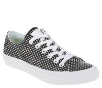 Sneaker, Web-Muster, Marken-Emblem, Schwarz