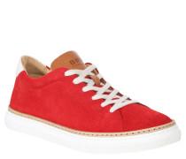 """Sneaker """"PAULARO"""", dreifarbig, Leder, Rot"""