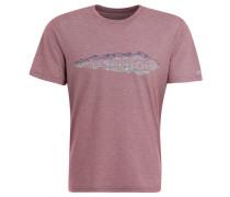 """T-Shirt """"Moyle II"""", Front-Print, schnelltrocknend, für Herren, Rot"""