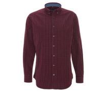 Hemd, Modern Fit, kariert, Button-Down-Kragen