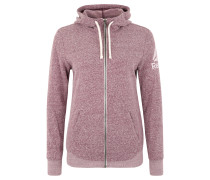 "Sweatjacke ""Elements Snow Melange"", für Damen, Lila"