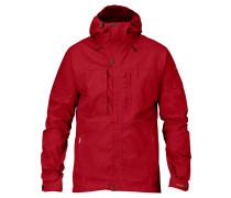 """Outdoorjacke """"Skogsö Jacket"""", atmungsaktiv, wasserabweisend, winddicht, für Herren, Rot"""
