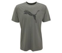 T-Shirt, Logo-Print, atmungsaktiv