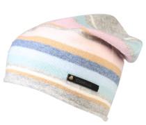 Strickmütze, Wolle, Cashmere-Anteil, Streifen