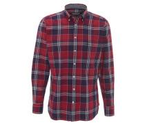 Freizeithemd, Button-Down-Kragen, Karo-Muster, Mehrfarbig