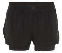 Shorts, Lagen-Look, breiter Gummibund