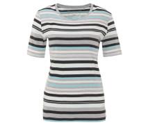 T-Shirt, gestreift, Bio-Baumwolle, Rundhalsausschnitt