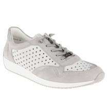 """Sneaker """"Lissabon"""", Stern-Lochung, Leder"""