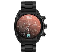 Herrenuhr Chronograph Overflow schwarz DZ4316