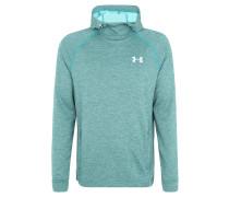 Sweatshirt, thermoregulierend, Kapuze, Grün