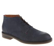 "Stiefel ""R2285OUNDER 3N"", Leder, einfarbiges Design, Blau"