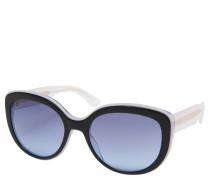 """Sonnenbrille """"TH 1354/S"""", Cat-Eye-Design, schwarz-weiß"""